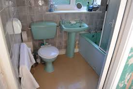 Bathroom Suites Manchester Replacing Our 1970s Blue Bathroom A Work In Progress