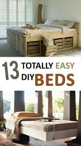 diy bedroom ideas. 13 Totally Easy DIY Beds Diy Bedroom Ideas E