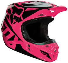 Fox Glove Size Guide Fox V1 Race Hjelme Motocross Pink Fox