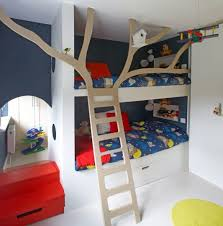 cool bunk bed for boys. Photo: Barbara Egan Of Reportage Cool Bunk Bed For Boys Red Tricycle
