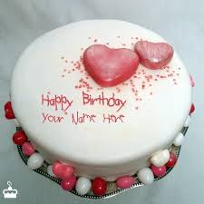 happy birthday cakes with love. Simple Cakes Write Name On Cake Specialty Heart Birthday With And Happy Cakes Love B