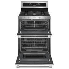 30inch wide double oven gas range with true convection 60 cu ft double oven gas range o78 gas