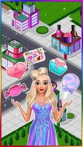 candy fashion dress up makeup game apk screenshot