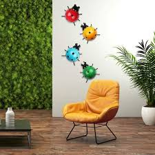 colorful cute insect for hanging wall art