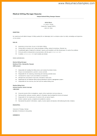 Medical Billing Supervisor Resume Sample Awesome Collection Of Billing Manager Job Description Great Billing ...