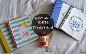 Sydney Huss Easy And Simple Diy For School