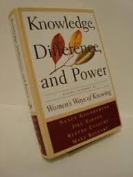 knowledge difference and power essays inspired by women s ways  knowledge difference and power essays inspired by women s ways of knowing goldberger