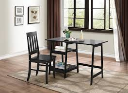 office desks home. daily writing desk and chair black office desks home