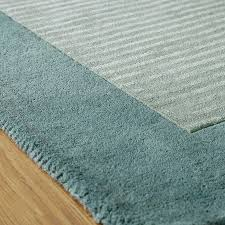 plain duck egg blue rug