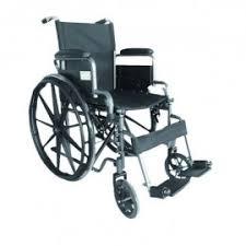 Silla de ruedas economica plegable