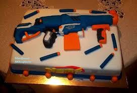 Nerf Guns Cake CakeCentral