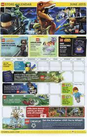 Calendar 2015 June July June 2015 Lego Store Calendar Us Brickset Forum