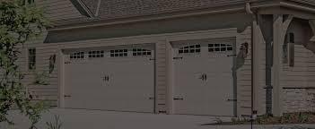 Carriage House Stamped Garage Doors | CHI Overhead Doors