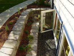 basement window well garden 153 best egress window ideas images on