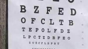 Vision Chart For Driver S License 70 Faithful Indiana Bmv Eye Chart