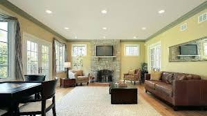 recessed lights living room installing recessed or accent lighting in your home in the metro area