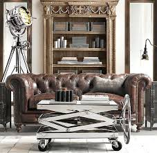 restoration hardware leather couch. Leather Sofas:Restoration Hardware Kensington Sofa Couch Restoration