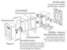 installation instructions f975 11 750 series outdoor infrascan installation instructions f975 11 750 series outdoor infrascan passive infrared motion sensor 19706