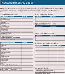 Household Budget Sample Worksheet 12 Household Budget Worksheet Templates Excel Easy Budgets