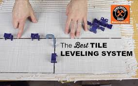 get amazing tile floors walls with the tuscan tile leveling system