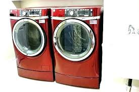colored washer and dryer. Brilliant Washer Red Washer And Dryer Sets Lg Colored  With Colored Washer And Dryer 5