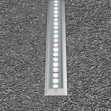 recessed floor light fixture led linear outdoor stila frame xenon architectural lighting