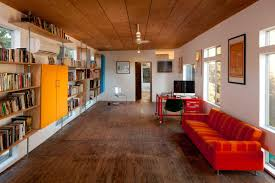 home office designs wooden. Flexible Space With Recycled Wood Flooring Home Office Designs Wooden O