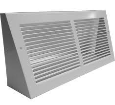cold air return grilles. Interesting Return White Steel Triangular Baseboard Register In Cold Air Return Grilles O
