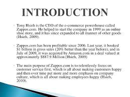 MISM      Zappos Case Study   Zappos com Inc Case Study and