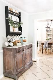 coffee bar furniture home. White Waxed Marble Top Coffee Bar Makeover | Blesserhouse.com - An Old, Damaged Furniture Home