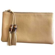 gucci clutch. gucci bamboo leather clutch bag gucci t