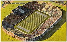 Notre Dame Football Seating Chart Rows Notre Dame Stadium Wikipedia