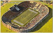 University Of Notre Dame Football Stadium Seating Chart Notre Dame Stadium Wikipedia