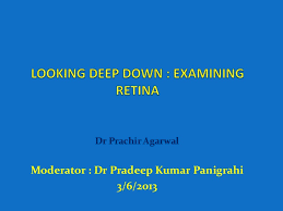 Looking Deep Into Retina Indirect Ophthalmoscopy And