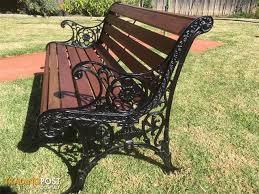 cast iron garden outdoor antique