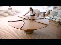 expanding round table amazing expandable round table you really need to see this ingenious expanding round expanding round table