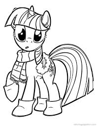 My Little Pony Coloring Pages Christmas 2512087 Weareeachother