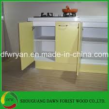 high gloss yellow kitchen cabinet base wall cupboards doors kitchen cabinet