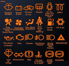 Ford Flex Dashboard Warning Lights Hahaha Yes My Squishy Doofer Light Went Off Once When I