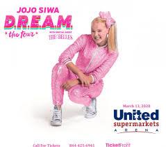 Jojo Siwa At United Supermarkets Arena Lubbock Tx Lubbock