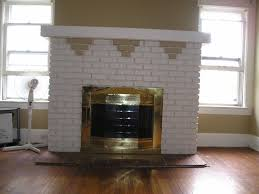 the original brick fireplace had been painted over at least 3 times in its life one of my first projects was to re it i began by removing the ugly