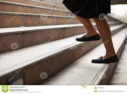 women are moving up the ladder royalty stock image image women are moving up the ladder