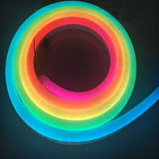 Led Color Tube Lights Dc12v 10 20mm Top Emitting Silicone Addressable Neon Digital