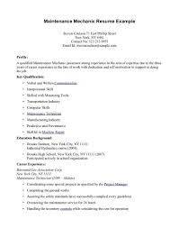 Resume Examples For Students With No Work Experience Resume Example Of Objective And Free Maker Singular Highschool 81