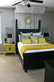 Grey Black And Yellow Bedroom Ideas