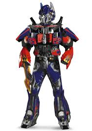 authentic optimus prime costume