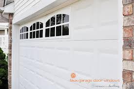 garage door window kitsWindows Faux Windows For Garage Doors Inspiration Fake Garage Door