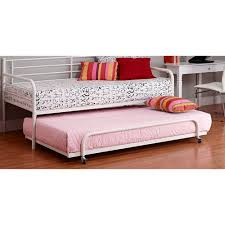 daybed with trundle. Dorel Home Twin Trundle For Metal Daybed, Multiple Colors Daybed With T