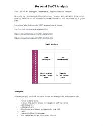 Swot Analysis Table Template Personal Swot Analysis Essay Examples Free Table Template Getpicks Co