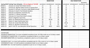 Tt Sp19 Schedule Big River Running